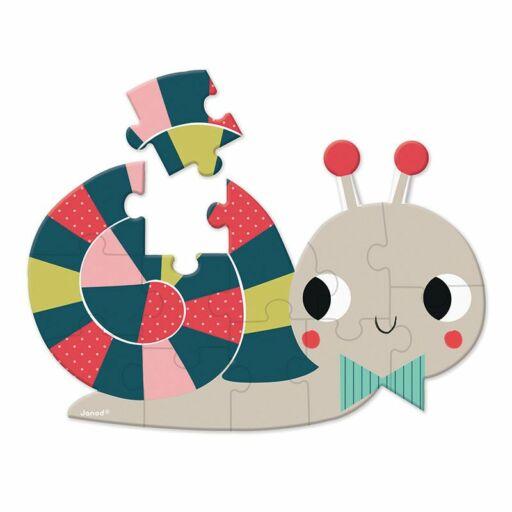 Janod-Bébi mini puzzle-Csiga