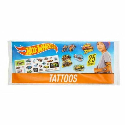 Hot Wheels 25 mini tetoválás