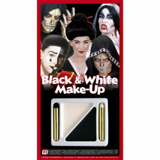 Fekete-fehér arcfesték
