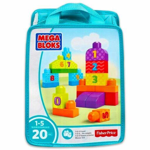 Mega Bloks-1-2-3 számolj építőkockák