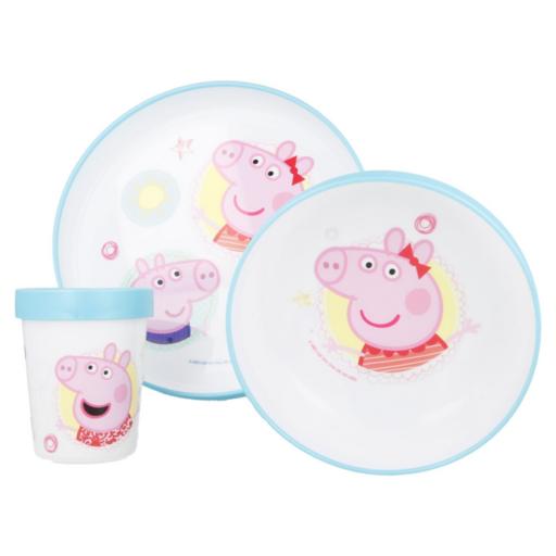 Peppa malac - BPA mentes Gyermek étkészlet 3 db-os