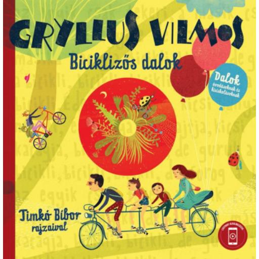 Biciklizős dalok - CD melléklettel