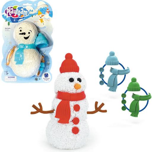 Habgyurma hóember építő játék