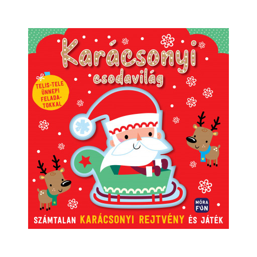 Karácsonyi csodavilág foglalkoztatókönyv