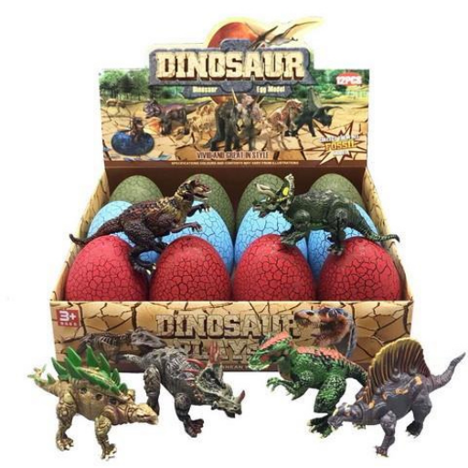 Meglepetés dinoszaurusz tojás többféle színben
