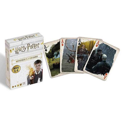 Harry Potter 5-8. filmek francia kártyajáték