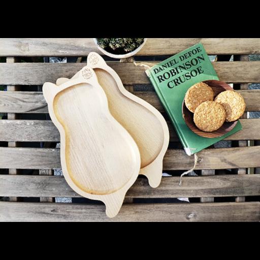 Borbolya - Cica alakú tányér