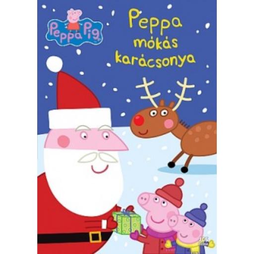 Peppa malac - Peppa mókás karácsonya foglalkoztatófüzet