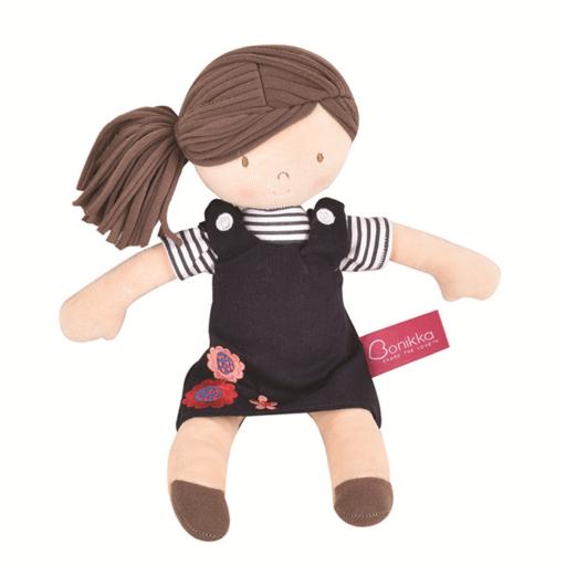 Ruby - Sötét barna haj/ sötétkék ruha