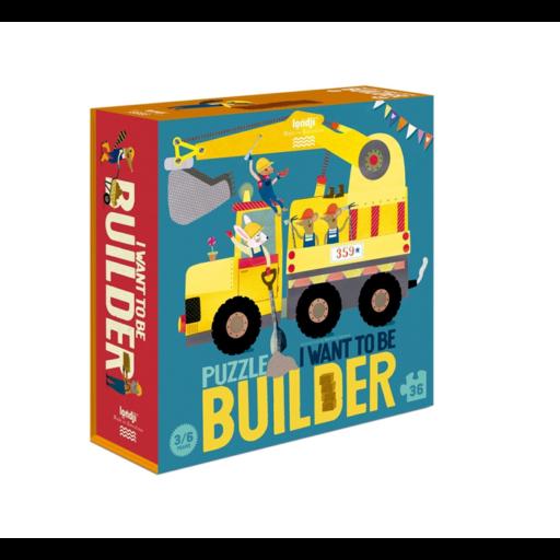 Londji - Szeretnék építész lenni! puzzle - 36 db