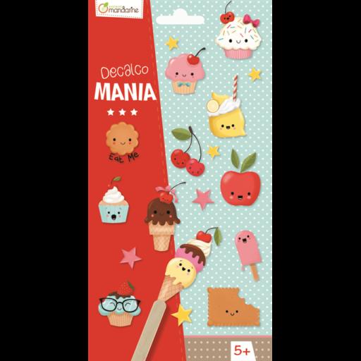 Decalco Mania – Cupcake satírozós matrica - 20 db