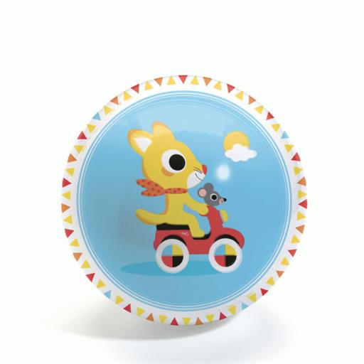 Djeco - Gumilabda - Cute race Ball - 12 cm