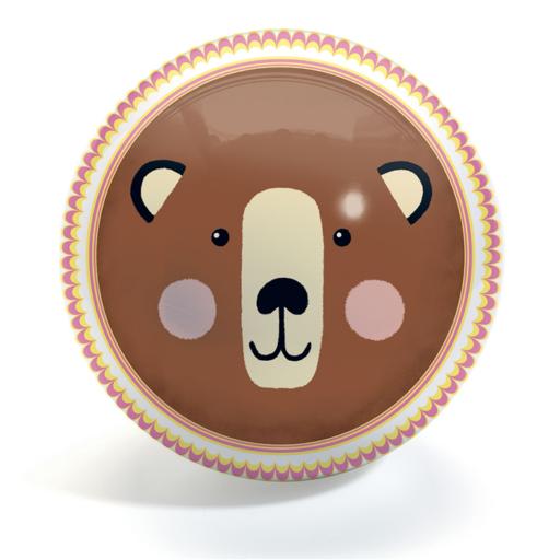 Djeco - Gumilabda - Medve és róka - 22 cm