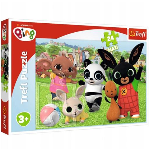 Trefl - Bing! Szórakozás a parkban Maxi puzzle - 24 db