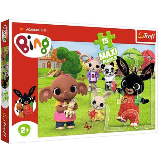 Trefl - Bing és barátai Maxi puzzle - 15 db