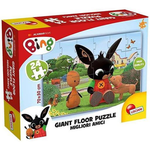Bing! Legjobb barátok! óriás padló puzzle - 24 db