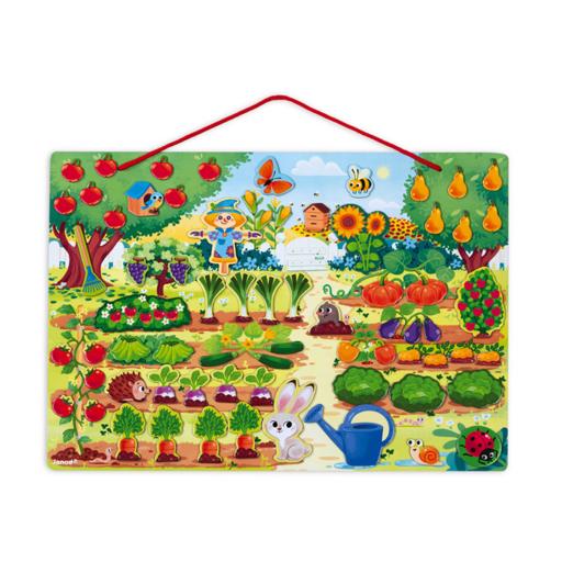 Janod - Mágneses kertem ügyességi játék