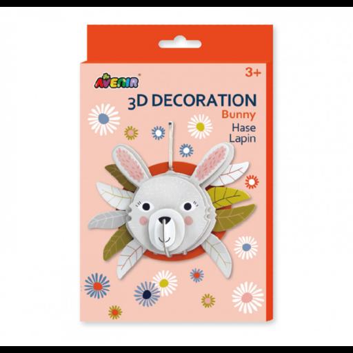 Avenir - 3D dekorációs puzzle - Nyuszi