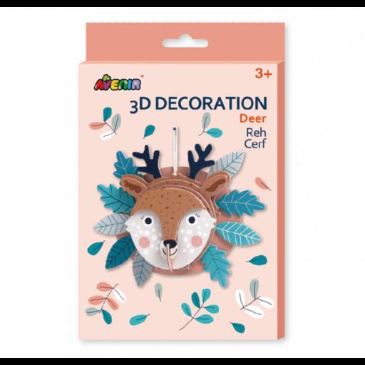 Avenir - 3D dekorációs puzzle - Szarvas