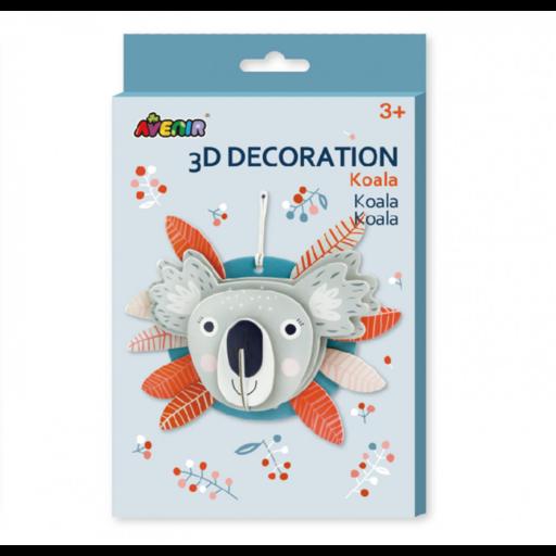 Avenir - 3D dekorációs puzzle - Koala