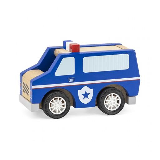 Fajáték - Játék rendőrautó