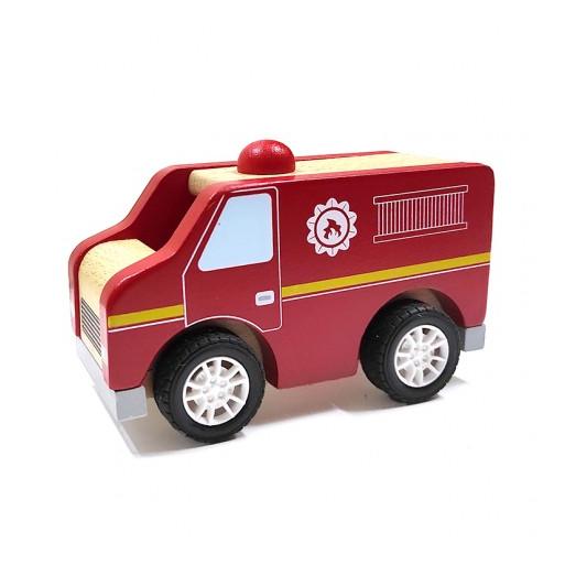 Fajáték - Játék tűzoltóautó
