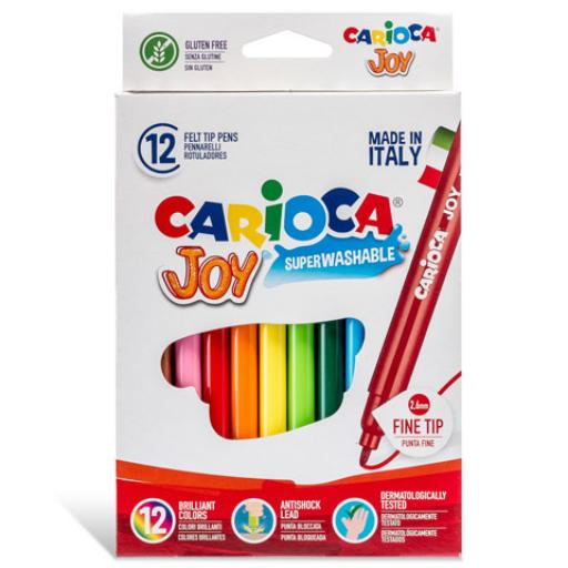 Carioca - Lemosható filctollszett - 12 db-os