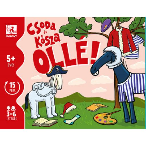 Csoda és Kósza - Ollé! - kártyajáték