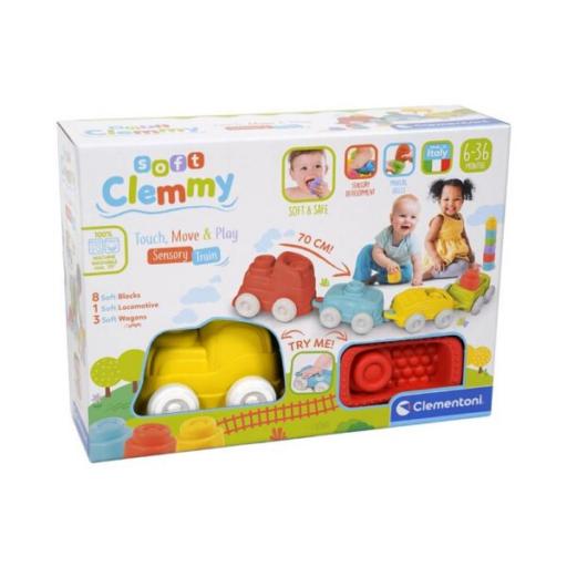 Clementoni - Clemmy Érzékelést fejlesztő vonatkészlet
