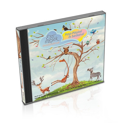 Esti mesék óvodásoknak - Potyi-Pötyivel és barátaival - hangoskönyv - CD
