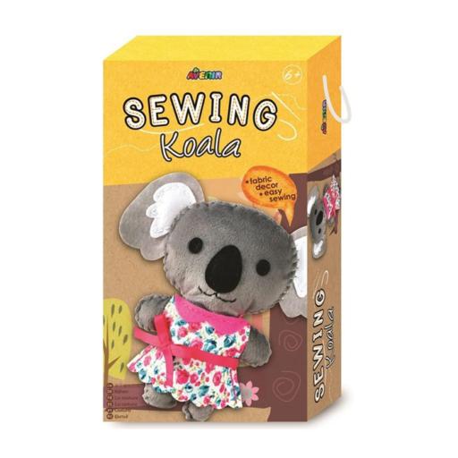 Avenir - Varrható plüss kocka dobozban - Koala