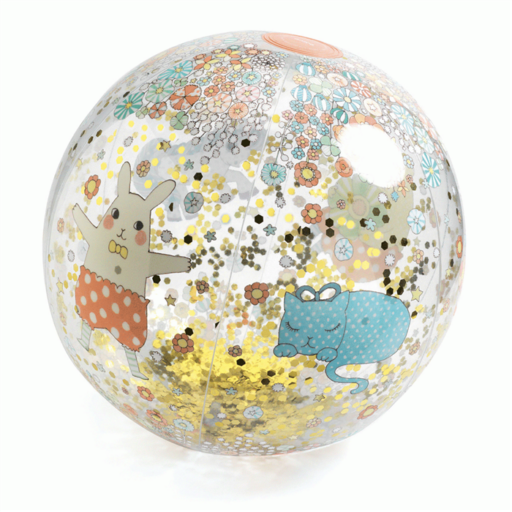 Djeco - Felfújható labda - Nyuszó és cicó - Kawaii ball