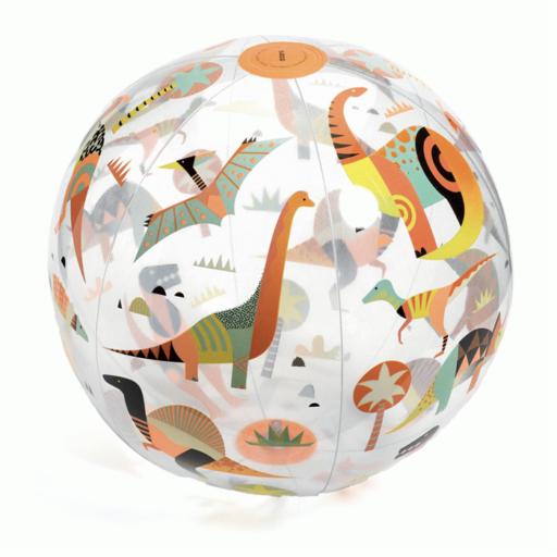 Djeco - Felfújható labda - Dínós labda - Dino ball