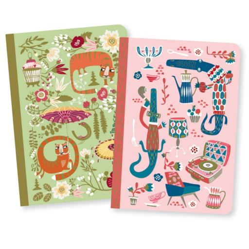 Djeco - Jegyzetfüzet - A/6, 2db - Asa little notebooks