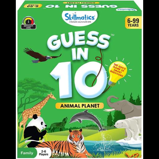 Guess in 10 - Oktató játék - Állatvilág