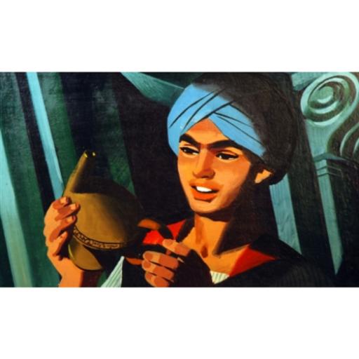 Diafilm - Aladdin és a csodalámpa