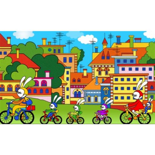 Diafilm - Biciklitúra a Pipitér szigetre