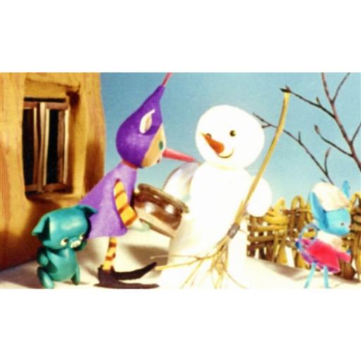 Diafilm - Mazsola és a Hóember