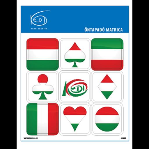 Kedd matrica - Zászló