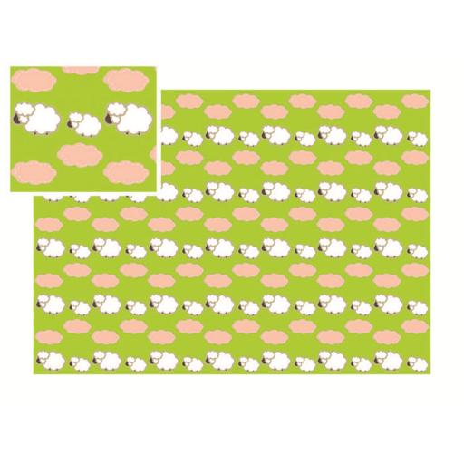 Kedd Csomagolópapír - Bárány mintával