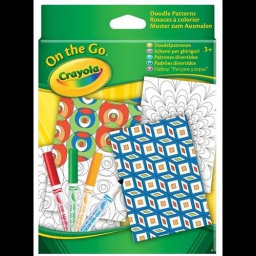 Crayola - Mini irka-firka úti szett