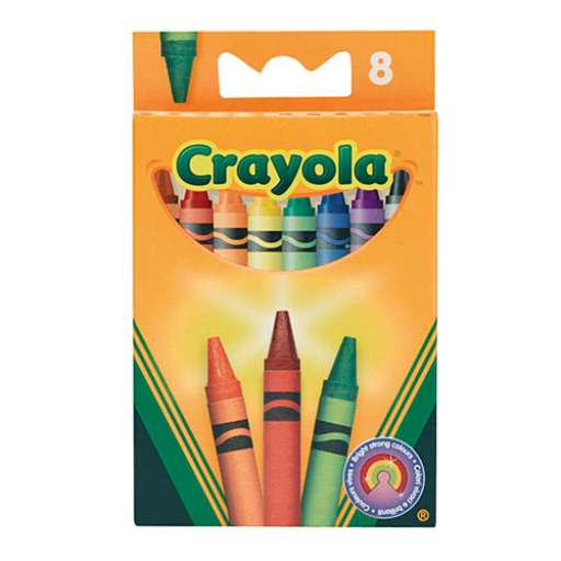 Crayola - Viaszkréta 8 db-os