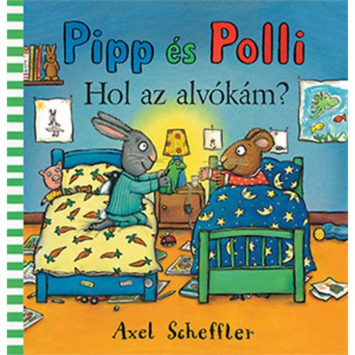 Pipp és Polli - Hol van az alvókám? - lapozó