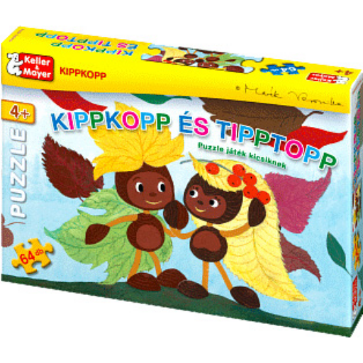 Kippkopp és Tipptopp - Puzzle kicsiknek