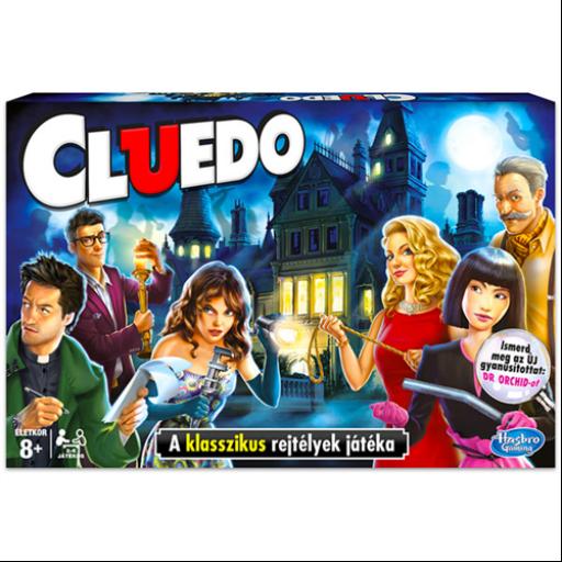 Cluedo - A rejtélyek játéka társasjáték