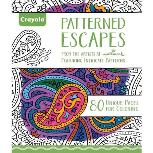 Crayola - Felnőtt színezőkönyv - 80 lap - Kreatív minták