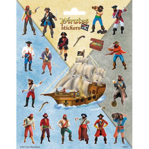 Kalózok matrica 156x200