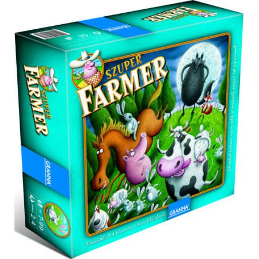 Granna - Szuper Farmer Extra társasjáték