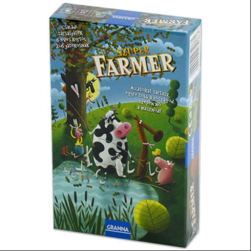 Granna - Szuper Farmer Mini társasjáték