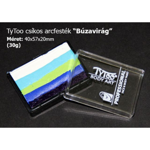 Tytoo - Arcfesték - 5 szín - Búzavirág